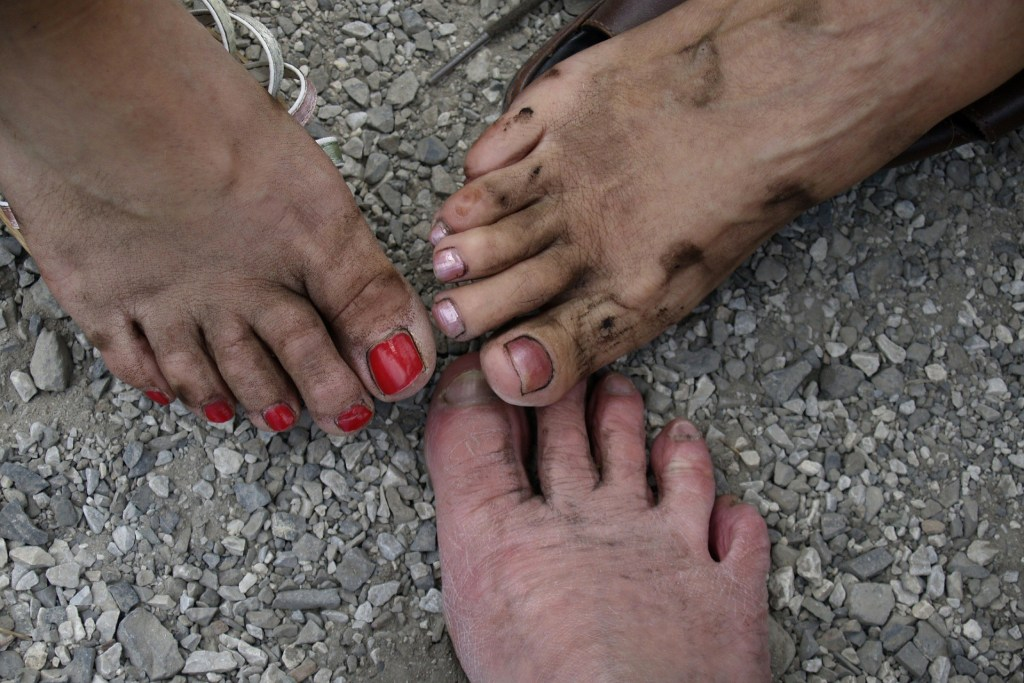 PURE HEARTS AND DIRTY FEET